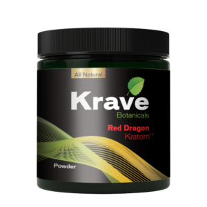 Krave Kratom Powder - Red Dragon