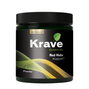 Krave Kratom Powder - Red Hulu