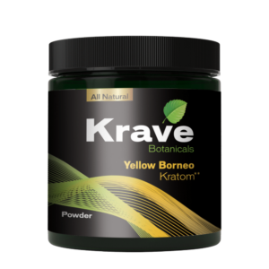 Krave Kratom Powder - Yellow Borneo